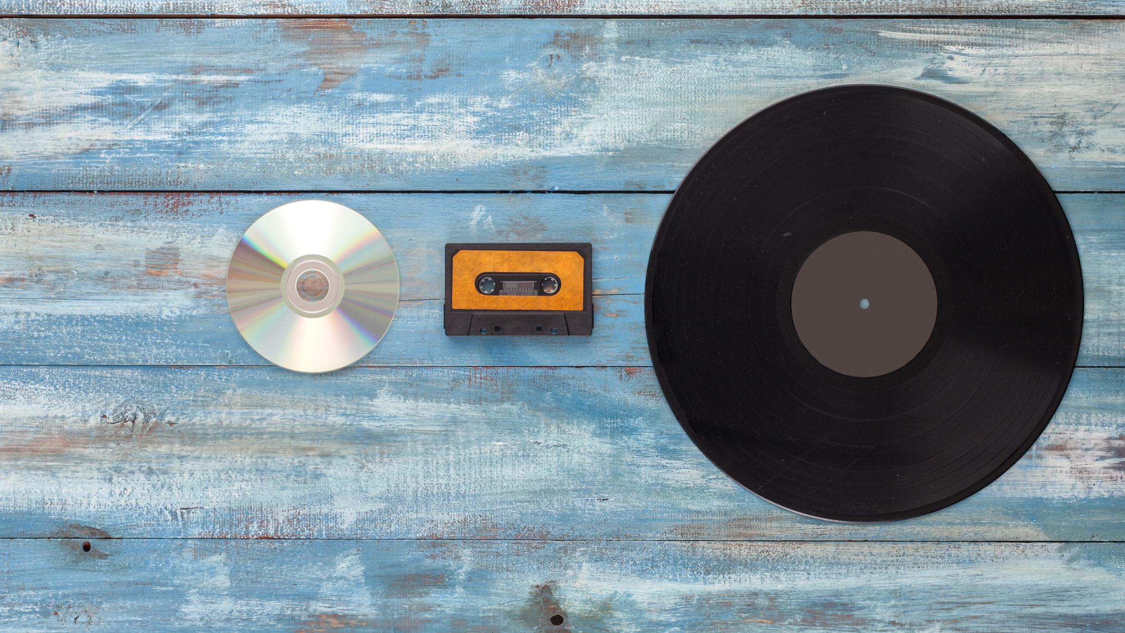 Vinyl till cd, till vinyl igen